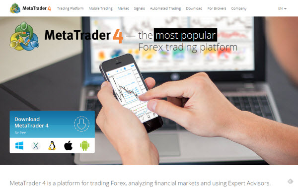 MetaTrader 4 Platform for Forex Trading