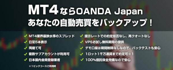 MT4ならOANDA Japan